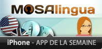 "MosaLingua selected as ""App of the Week"" by Apple"